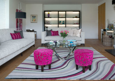 Studio 12 Designs - Contemporary Living Room