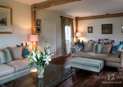 Studio 12 Designs - Country House Drawing Room