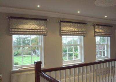 Studio 12 Designs -  Bespoke window treatment