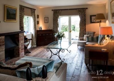 Studio 12 Designs - Living Room Funiture and Decoration