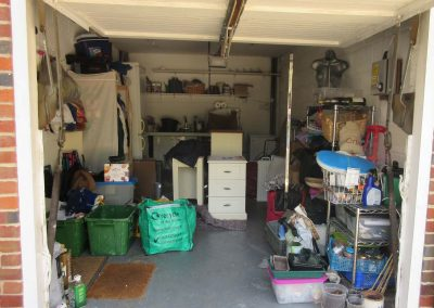 Studio 12 Designs - Maximum Utility -Garage space before
