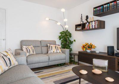 Studio 12 Designs - Contemporary Living Room
