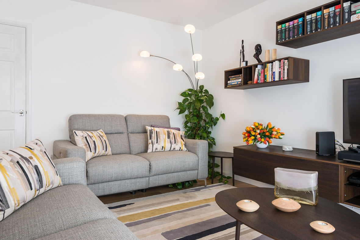 interior design project  contemporary open plan living room