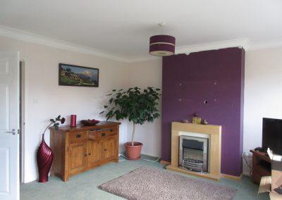 Studio 12 Designs -Living room before