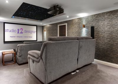 Studio 12 Designs -Cinema Room