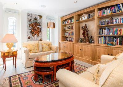 Bespoke Oak Library - Studio 12 Designs